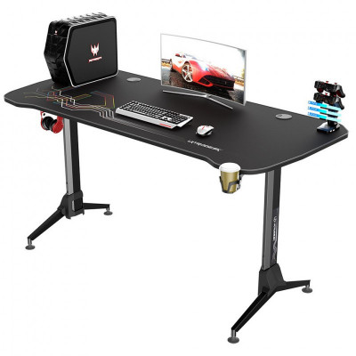 Ultradesk GRAND bureau gamer réglable en hauteur