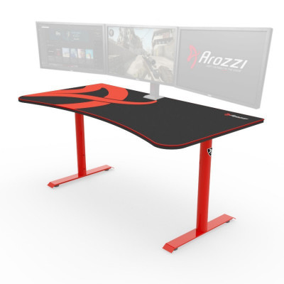 Arozzi ARENA grand bureau gamer - Rouge