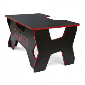 Generic Comfort GAMER2/DS Bureau gamer massif et robuste Rouge