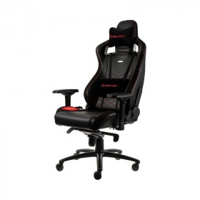 Noblechairs EPIC chaise gaming luxe en similicuir rouge