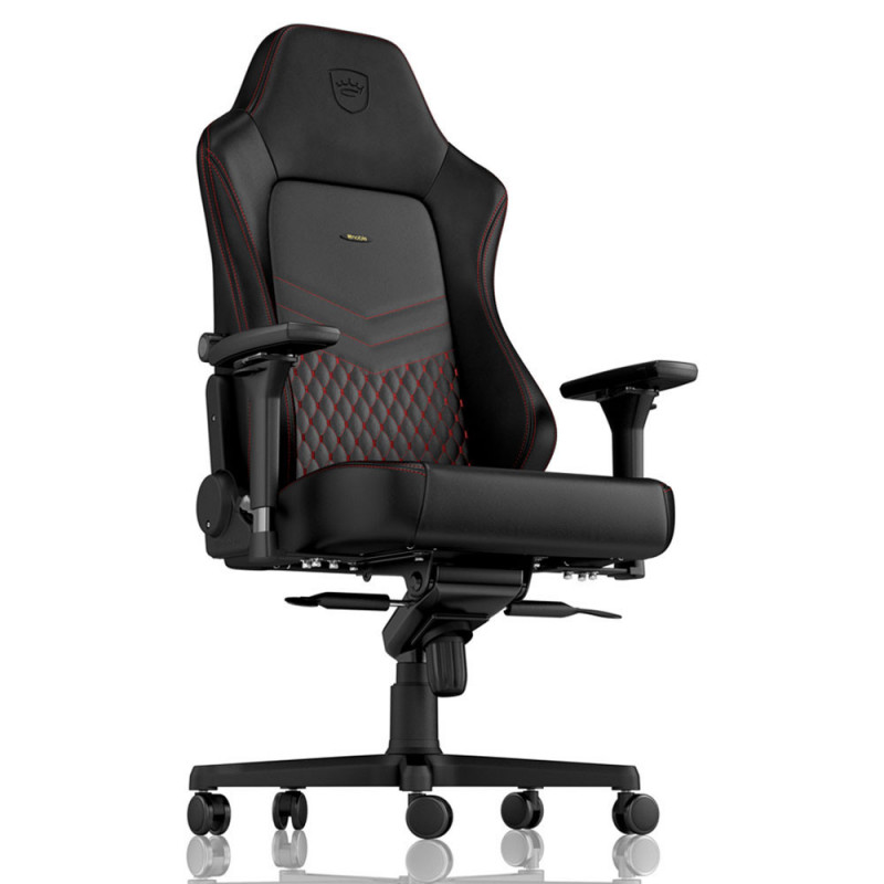Noblechairs HERO chaise gaming cuir (M,L, XL) rouge