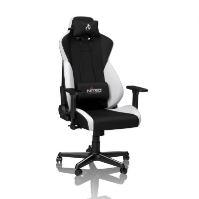 Nitro-Concepts S300 chaise gaming tissu blanc